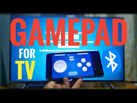 HOW TO USE PHONE AS GAMEPAD FOR ANDROID TV