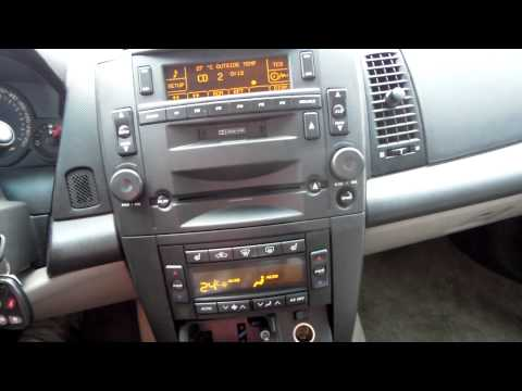 Cadillac CTS aux in line in ipod iphone mp3 player car radio Autoradio