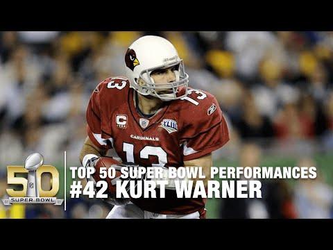 #42: Kurt Warner Super Bowl XLIII Highlights | Top 50 Super Bowl Performances