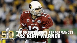 #42: Kurt Warner Super Bowl XLIII Highlights | Top 50 Super Bowl Performances