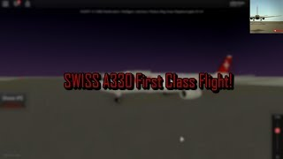 ROBLOX | Swiss International Airlines | A330 | Primeira classe