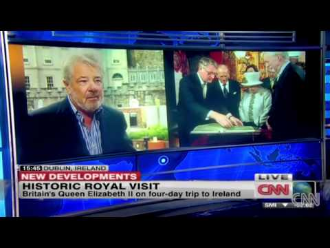 John McColgan interviewed on CNN - Queen Elizeth II