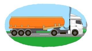 Das Malbuch - Tankwagen, Mehltransporter, Benzintransporter