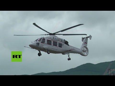 RT en Español: El nuevo helicóptero K-62 ruso empieza a surcar los cielos