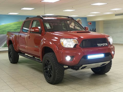 2014 toyota tacoma trail teams trd supercharged 141316. Black Bedroom Furniture Sets. Home Design Ideas