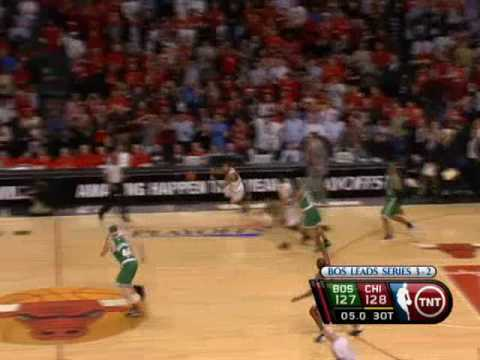 It's Been 10 Years Ago Today. What A Play By Derrick Rose!