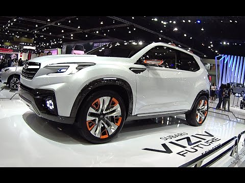 2017, 2018 Subaru Forester is new 2016, 2017 Subaru Viziv Future concept