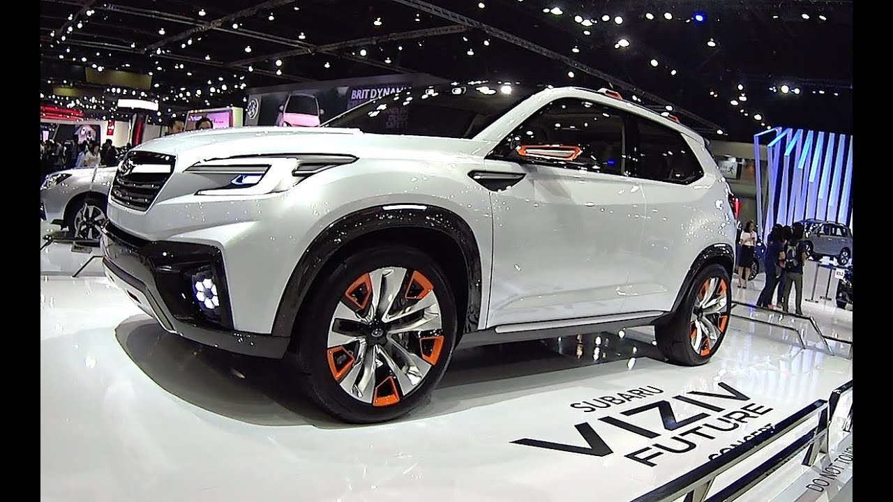 2017 2018 subaru forester is new 2016 2017 subaru viziv future concept youtube