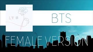 Video BTS - Pied Piper [FEMALE VERSION] download MP3, 3GP, MP4, WEBM, AVI, FLV Juli 2018