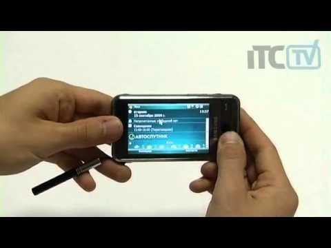 Обзор Samsung SGH-i900 Witu
