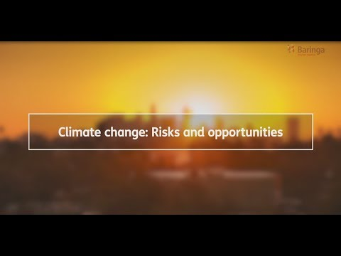 Climate Change - Risk and Opportunities video