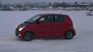 Subaru R2 Drift on ice