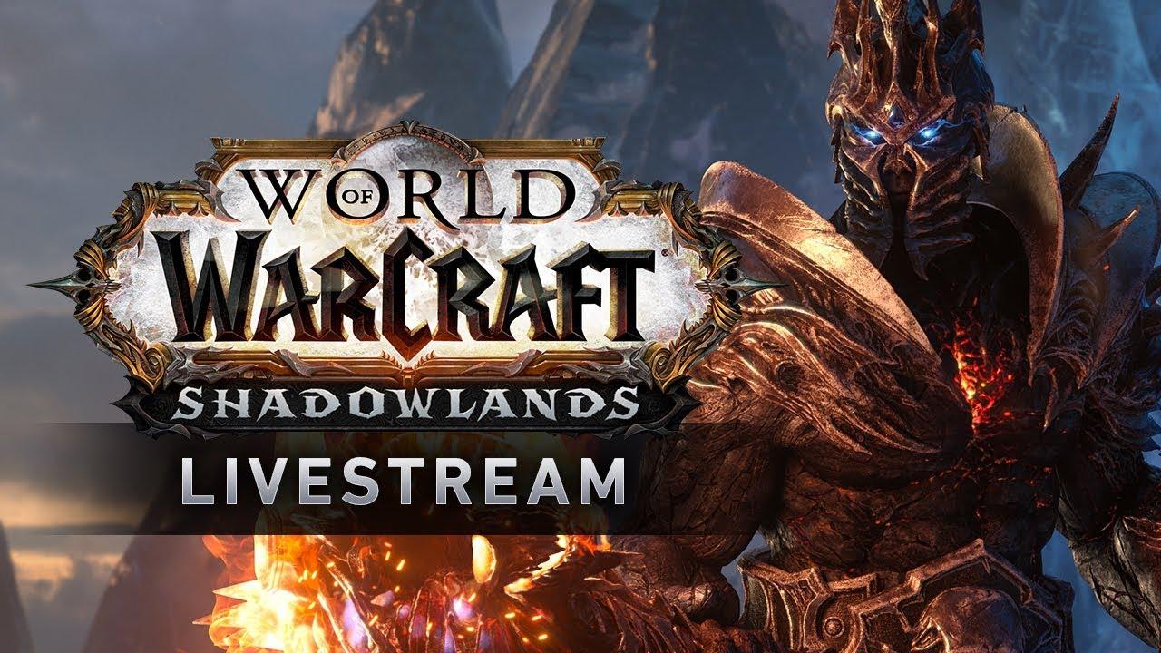 World of Warcraft Shadowlands - Developer Update Livestream thumbnail