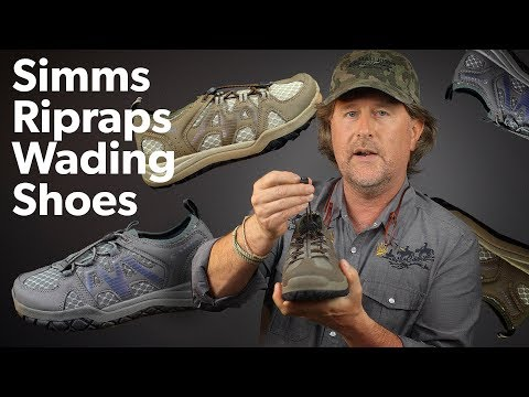 WET WADING In The Simms Riprap Shoes | Review + Showcase