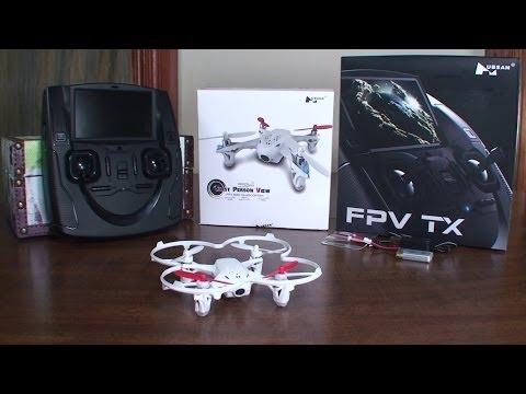 Квадракоптер Hubsan X4 H107D с 0,3 MP HD камера за запис на видео в реално време 14