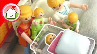 Playmobil Film deutsch - Die Geburt von Mia - Alex und Pauls Schwester - Familie Hauser
