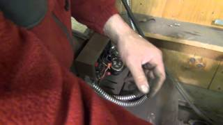 Air compressor motor troubleshooting Part 1- bad start capacitor switch