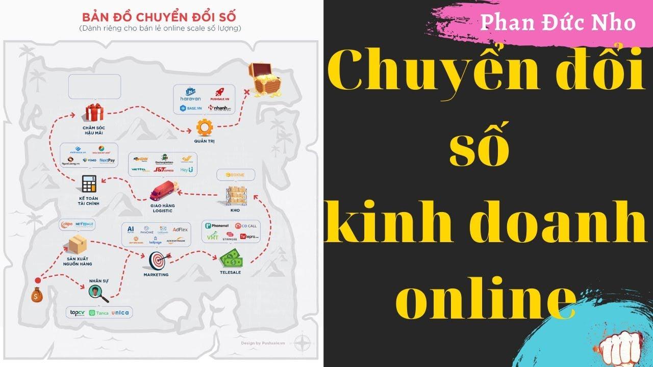 Mô hình kinh doanh online bản đồ chuyển đổi số