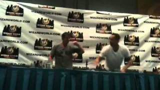 Nicholas Brendon and Kelly Donovan Snoopy Dance
