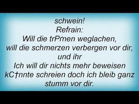 Samajona - So Schwer Lyrics
