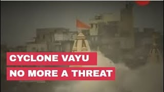 Cyclone Vayu no more a threat; Gujarat remains on high alert