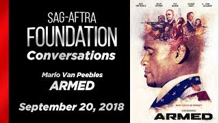Conversations with Mario Van Peebles of ARMED
