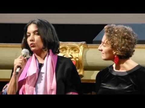 "Shabana Azmi about her roles in ""Fire"" and other controversial movies (at River to River)"