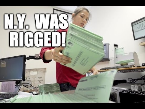 New Proof The NY Primary Was RIGGED!