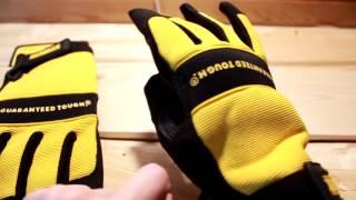 Обзор перчатки Dewalt DPG20
