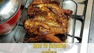 The BEST Oven Baked Chicken Recipe  Soso Ya Kotumba