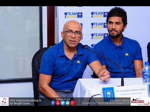 Sri Lanka's cricketing talents excites Chandika Hathurusingha