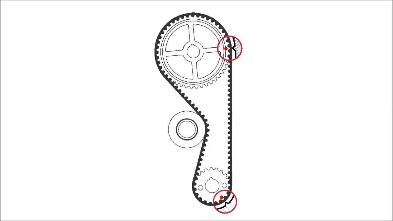 daihatsu terios timing belt marks