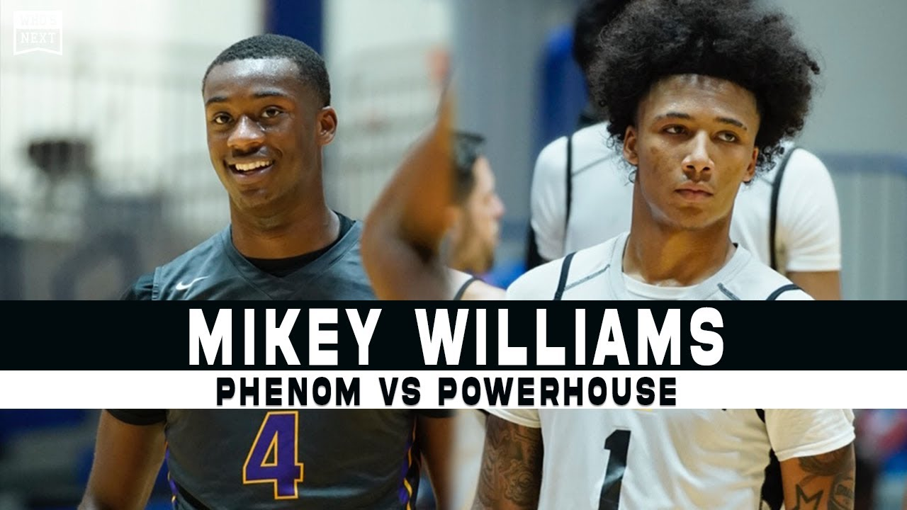 Mikey Williams and Vertical vs. Powerhouse Montverde