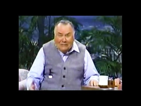 JONATHAN WINTERS with JOHNNY CARSON    1980's