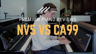 🎹Kawai Novus NV5 vs Kawai CA99 Hybrid Piano Comparison   Premium Hybrids from Kawai🎹