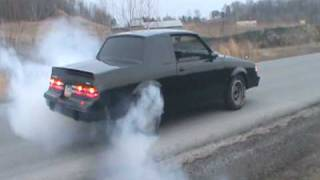 1987 Buick Regal T-Type/Grand National Burn out