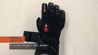 30seven - Guide on testing the heated gloves