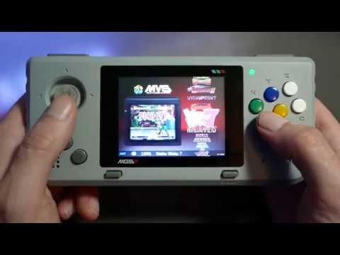MGSP Raspberry Pi powered handheld