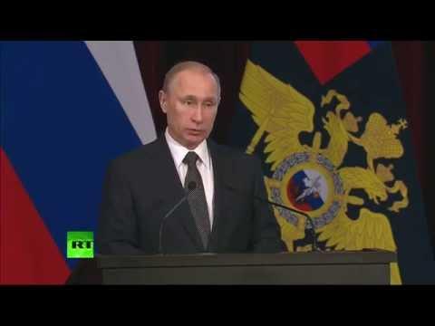Выступление Владимира Путина на заседании коллегии МВД