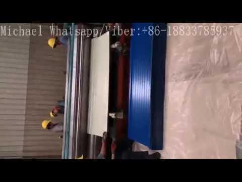Barrel Corrugated Roofing Sheet Making Machine