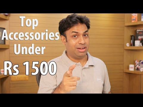 Top Accessories / Gadgets For Less than Rs 1500 🔥