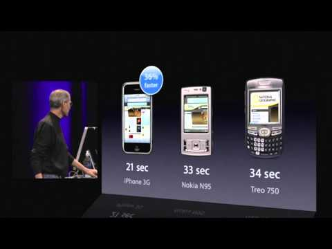 Apple - iPhone 3G Keynote 2008 (HQ) Part 1 of 2