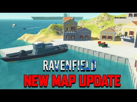 Ravenfield NEW MAP Update!  Planes vs Battleships! (Ravenfield  Beta Gameplay Part 12)
