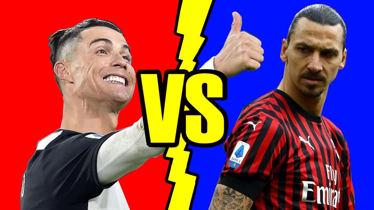 Juventus VS Milan (Ibrahimovic VS Ronaldo) - Battaglia Rap Epica - Manuel Aski