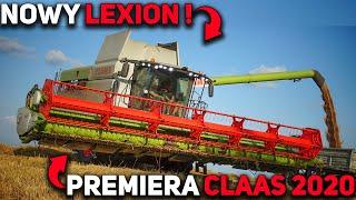 Nowy Claas Lexion 6800 !✔ Żniwa 2019 na 4 Kombajny ☆ Testujemy Lexiona w Pszenicy ! [Harvest 2019]