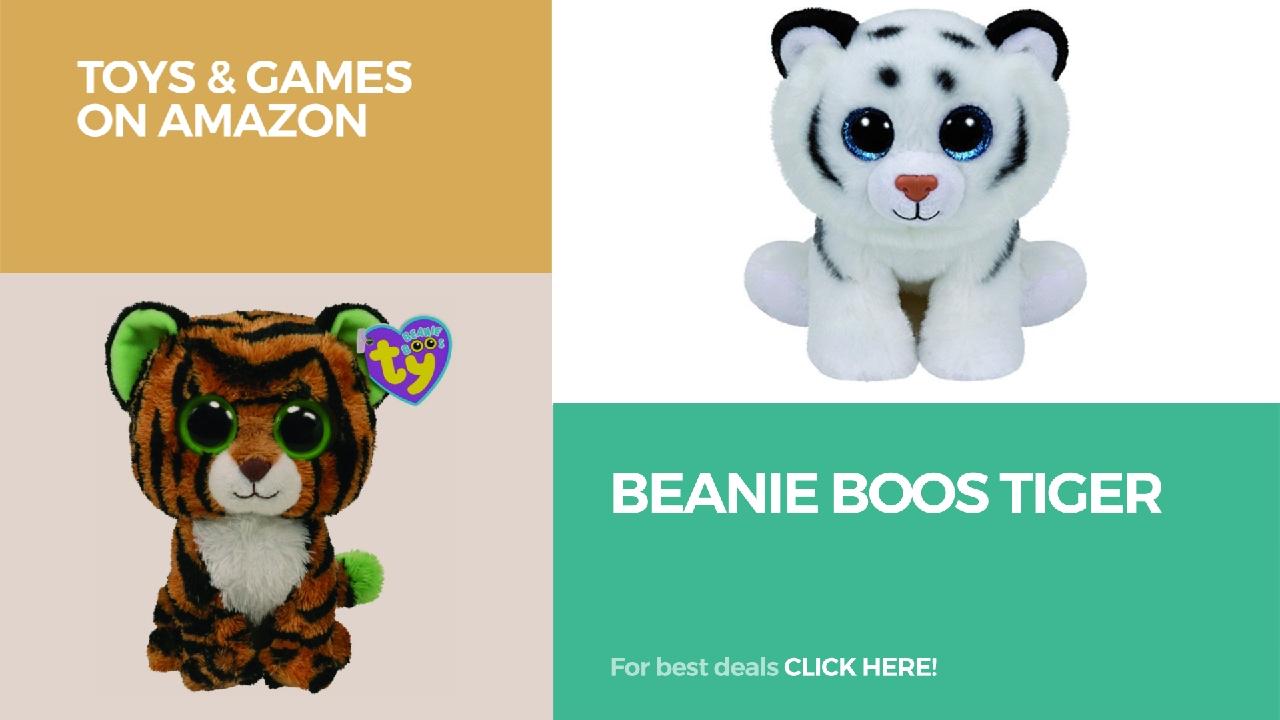 Beanie Boos Tiger Toys Games On Amazon Youtube