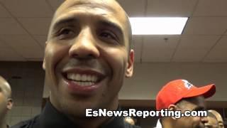 Fan Tells Andre Ward He Beats Gennady Golovkin - EsNews Boxing
