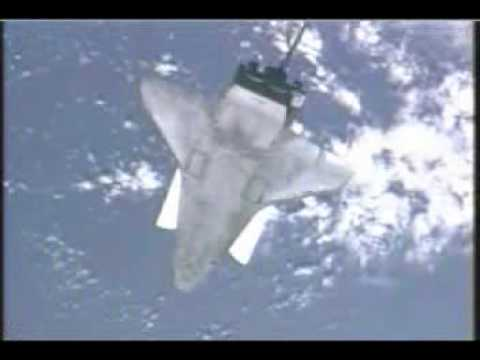 Atlantis' Acrobats: One backflip and a dock to ISS