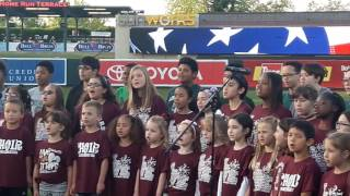 Sacramento River Cats 4/18/17 National Anthem