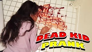DEAD DAUGHTER PRANK ON GIRLFRIEND!! (GONE HORRIBLY WRONG)